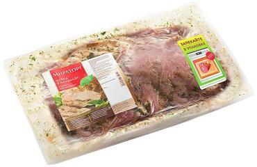 Шейка свиная в маринаде для запекания охлажденная Мираторг, 900 гр., вакуумная упаковка