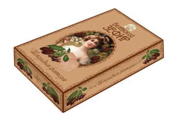 Зефир Старые Традиции белёвских мастеров Шоколадная фантазия, 250 гр., картонная коробка