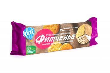Печенье с пониженным содержанием сахара Фитченье, Leti, 150 гр., флоу-пак