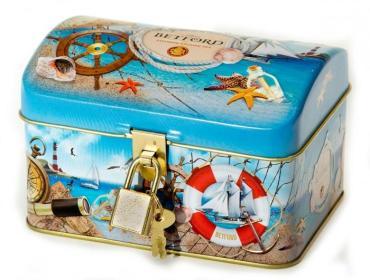 Чай Сундучок Морские просторы ОРА х14, Betford,  80 гр., картонная коробка