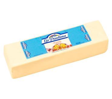 Сыр 42%, La Paulina Моцарелла, 3,6 кг., вакуумная упаковка
