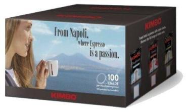 Кофе в чалдах 100 шт., Kimbo Armonia 100% Arabica, 700 гр., картонная коробка