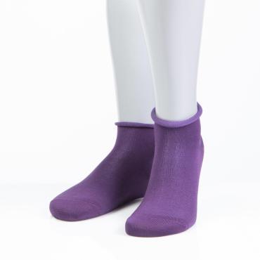 Носки женские 15D22 фиолетовый 23 размер Grinston socks