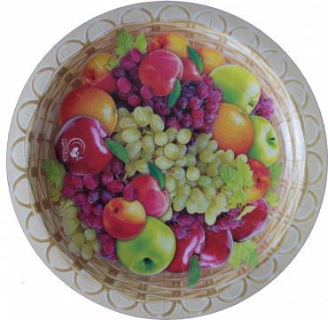 Набор тарелок 6 шт., 230 мм., Фрукты