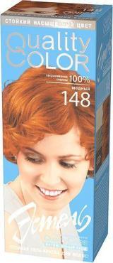 Гель-краска для волос, 148 медный, Estel, 162 гр., картонная коробка