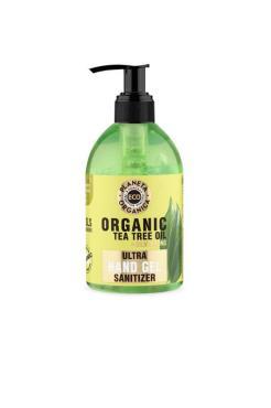 Гель для рук масло чайного дерево универсальный, Planeta Organica Eco Organic Tea Tree Oil, 300 мл., пластиковая бутылка с дозатором