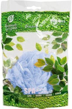 Мочкалка для душа Бант цветной, Банные штучки, 40 гр., пластиковый пакет