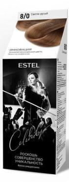 Крем уход светло русый, Estel, Celebrity 185 гр., картонная коробка