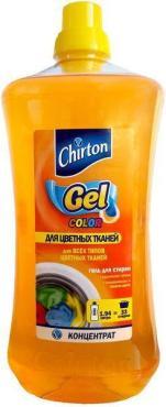 Средство для стирки жидкое   1.94л для цветных тканей CHIRTON концентрат   ''GD''   1/6