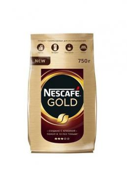Кофе Nescafe Gold растворимый 750г