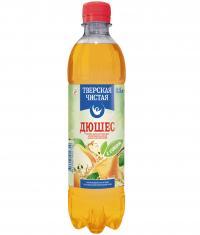 Напиток сильногазированный Тверская чистая Дюшес, 500 мл., пластиковая бутылка