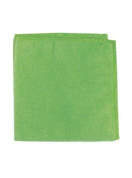 Салфетки зеленые из микрофибры 40*40см*1шт