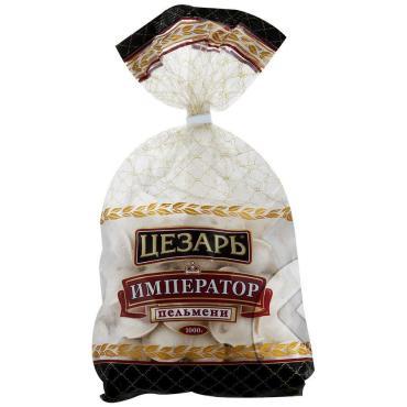 Пельмени из свежего мяса, Цезарь, Император 800 гр., пластиковый пакет