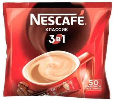 Кофе Nescafe Classic 3в1 50*16гр