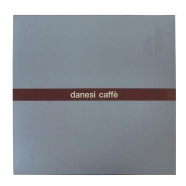 Подарочный набор для эспрессо, розовый, 12 предметов, Danesi картонная коробка