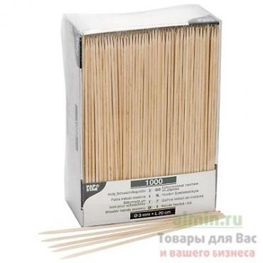 Шашлычные палочки-шпажки дерево Ø 3 мм. · 20 см., Papstar, 92 гр., картонная коробка