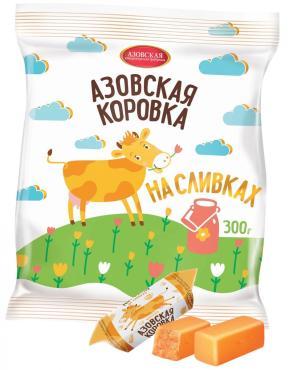 Конфеты молочные на сливках Азовская кондитерская фабрика