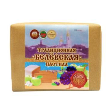 Пастила черника Белёвский продукт, 250 гр., пергамент