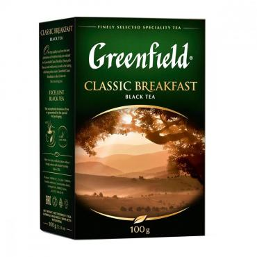 Чай черный Greenfield Classic Breakfast