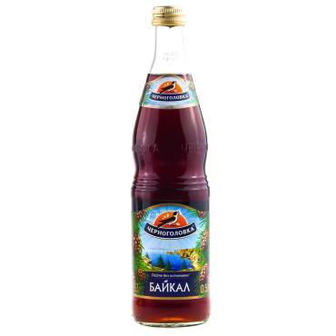 Напиток сильногазированный Байкал Черноголовка, 500 мл., стекло