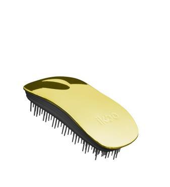 Расческа для волос Ikoo, Home black - soleil metallic 200 гр., картонная коробка