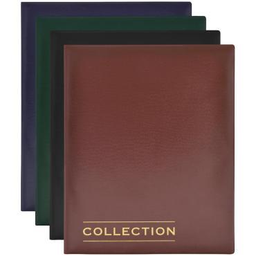 Альбом для монет OfficeSpace Optima 230*270, на кольцах, 10л., ПВХ