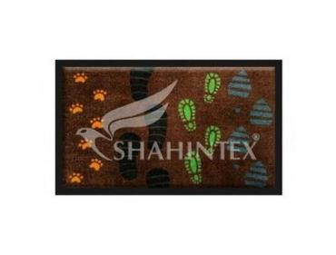Коврик влаговпитывающий 52*90 см., Shahintex Photoprint Wash and dry 001, 500 гр., пластиковый пакет