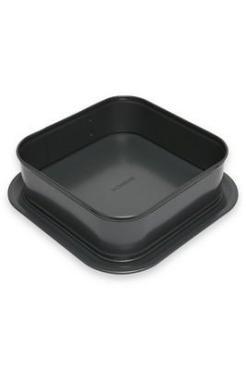 Форма для торта раскладная квадратная 24х24см Dosh Home Fornax, 525 гр., пластиковый пакет