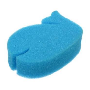 Мочалка из поролона , размер 145 * 95 * 40 мм., Банные штучки Кашалот, пластиковый пакет