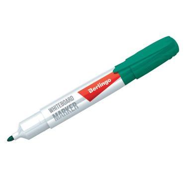 Маркер для белых досок Berlingo Uniline WB200, зеленый, пулевидный, 2мм