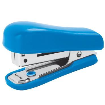 Мини-степлер №10 OfficeSpace до 10л., пластиковый корпус, синий