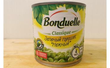 Горошек Bonduelle, 400 гр., жестяная банка