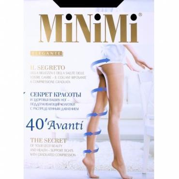 Колготки 40 Nero 6XХL MiNiMi Avanti, пластиковый пакет