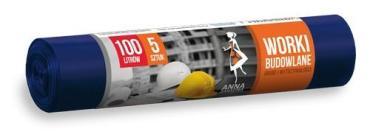 Мешки для мусора 100 л., А5 Анна Зарад, бумажная упаковка