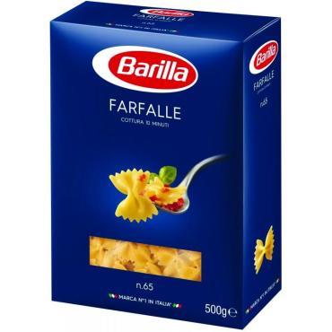 Макароны Фарфалле Barilla, 500 гр., картонная коробка