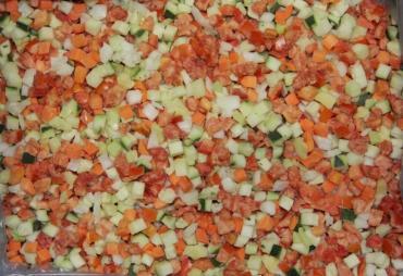 Смесь овощная Лечо Россия, Европа, 10 кг., картонная коробка
