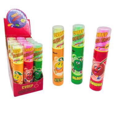 Конфета спрей фруктовая улыбка 22 гр., пластиковая упаковка