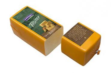 Сыр Тильзитер брус, Бергмастер,  Киприно, 3 кг., термоусадочная пленка