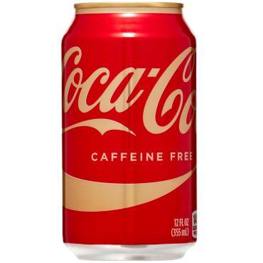 Газированный напиток Caffeine Free,  Coca Cola, 355 мл., жестяная банка