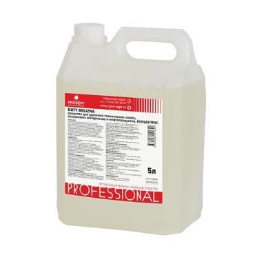 Средство для комплексного мытья и отбеливания поверхностей с дезинфицирующим эффектом Prosept Duty Belizna, 5 л., канистра