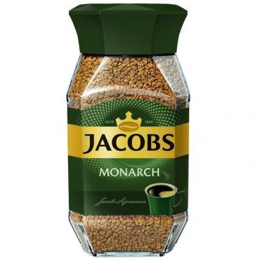 Кофе в гранулах, Jacobs Monarch, 95 гр., стекло