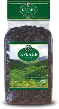 Чай черный листовой Azercay tea Кубань 400 гр., пластиковый пакет