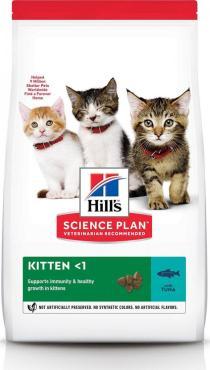 Корм сухой для котят для здорового роста и развития с тунцом Hill's Science Plan, 7 кг., пластиковый пакет