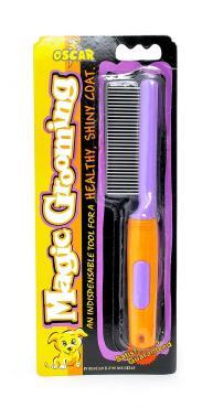 Расческа для груминга, 31 металлический зубчик, Benelux Magic Grooming, блистер