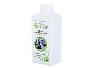 Гель для стирки белья Clean Home Универсальный, 1 л., пластиковая бутылка