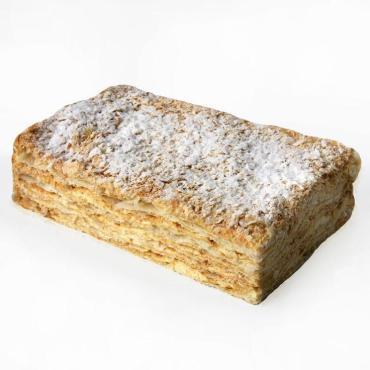 Слойка с заварным кремом Наполеон, (16шт), Дол-Хлеб
