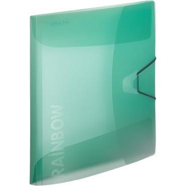 Папка на резинке Attache Rainbow Style зеленый