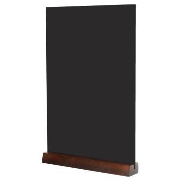 Табличка меловая настольная Attache А4 вертик.  на деревянной подставке