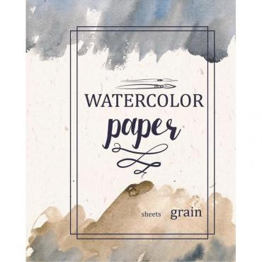 Папка для рисования №1 School А3 20л, бум. акварел. 180 гр/м, мелкое зерно,