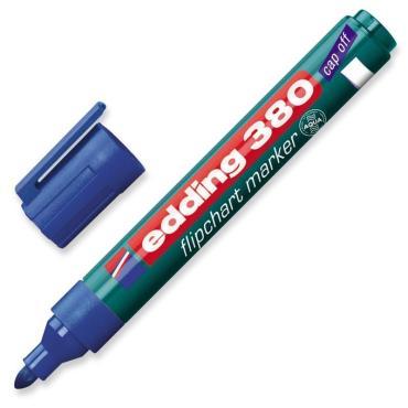 Маркер по бумаге (флипчарт) EDDING E-380/3 синий